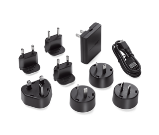 Bose-wandoplader plus internationale adapters