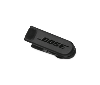 b51851d2efa QuietComfort® 20 headphones clothing clip. Bose Facebook