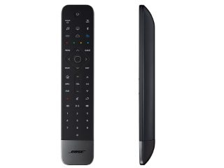 Front and side views of the Bose Soundbar Universal Remote