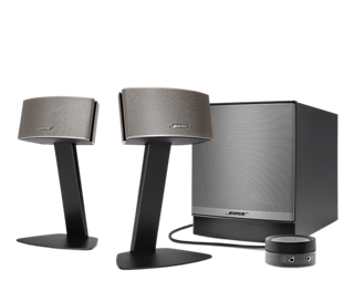 Bose Sound System >> Companion 50 Multimedia Speaker System