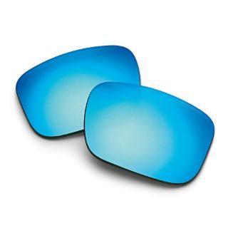 Mirrored Blue lenses