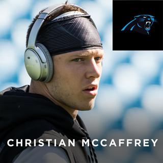 5eb9edc4507 Christian McCaffrey, Carolina Panthers