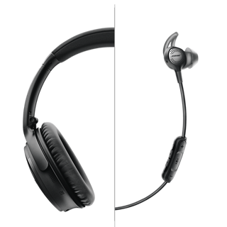 bose noise cancelling wireless headphones. wireless headphones let you take your music anywhere. so we engineered our qc35 iis to keep up, with impact- and corrosion-resistant materials in the bose noise cancelling o