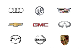 Automotive manufacturers' logos
