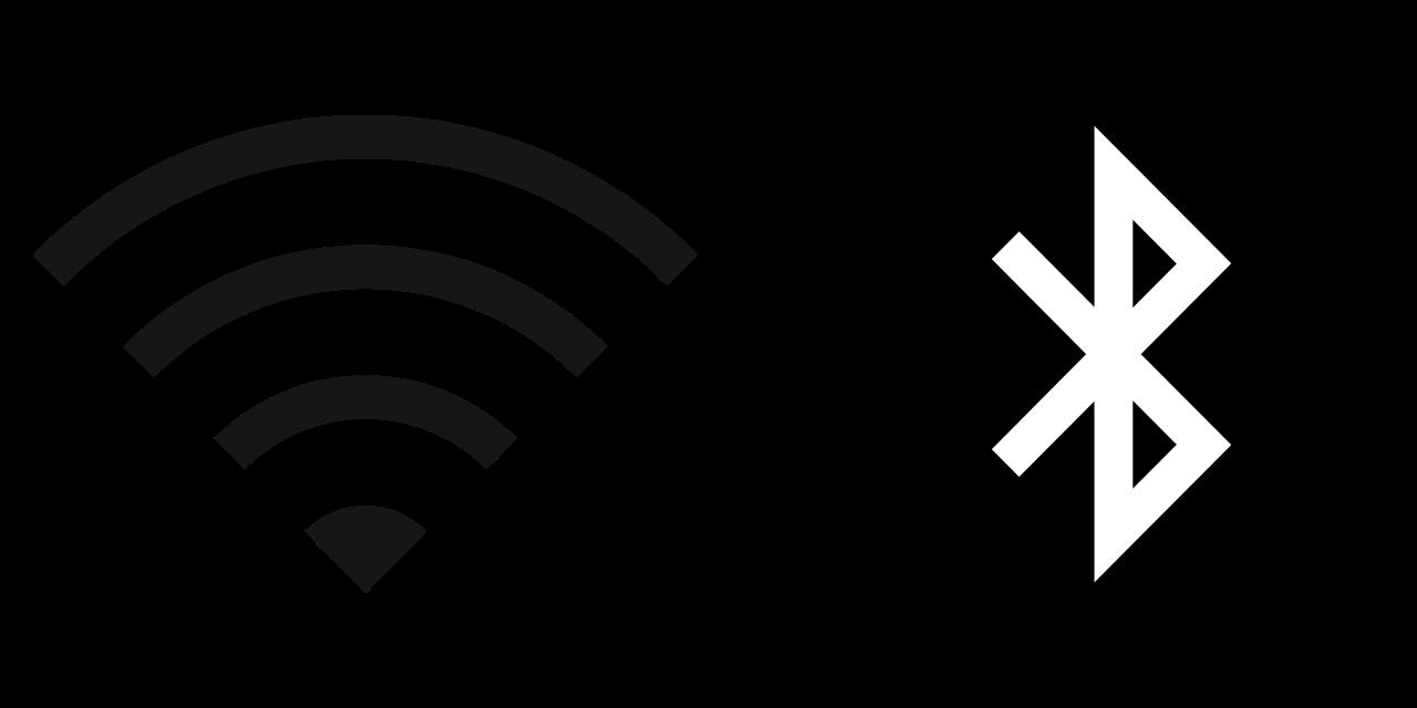 Icono de Wi-Fi y Bluetooth