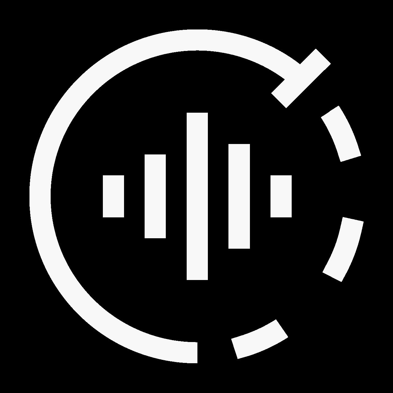 Pictogram regelbare noise cancelling
