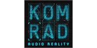 KOMRAD audio reality logo