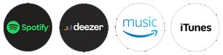 Spotify, Deezer, Amazon, iTunes