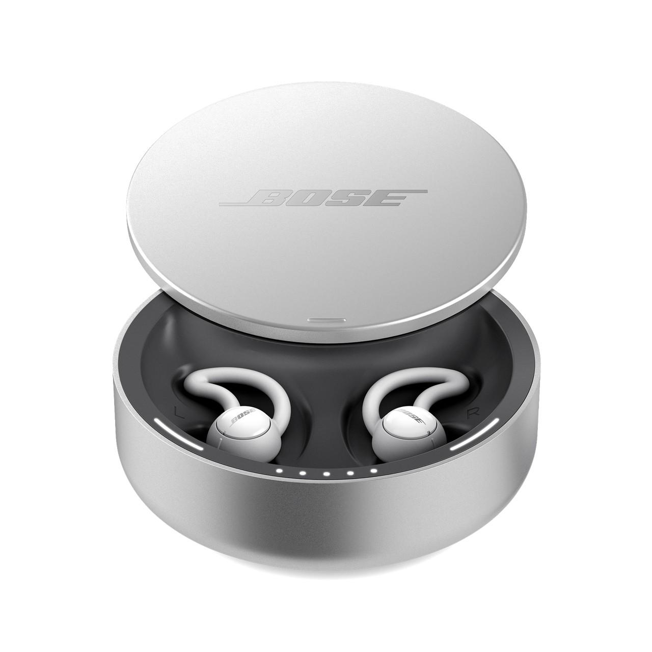 Bose Noise-Masking Sleepbuds i deres opladningsetui