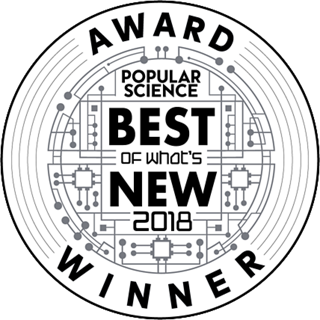 Popular Science Best of What's New 2018 award winner logo