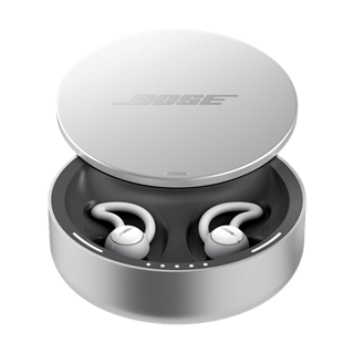 Bose noise-masking sleepbuds in the charging case