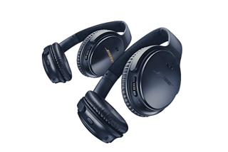 Black and Silver QuietComfort 35 wireless headphones II