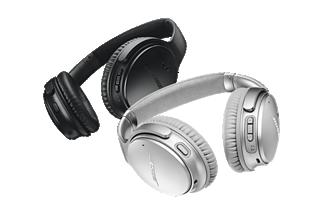 Black and Silver QuietComfort 35 wireless headphones II