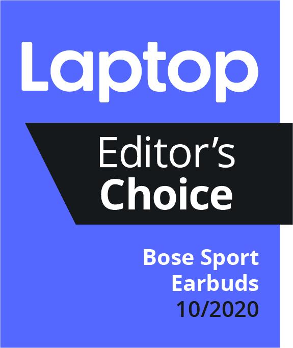 Избор на редактора на списание за лаптоп - Спортни слушалки Bose - октомври 2020 г.