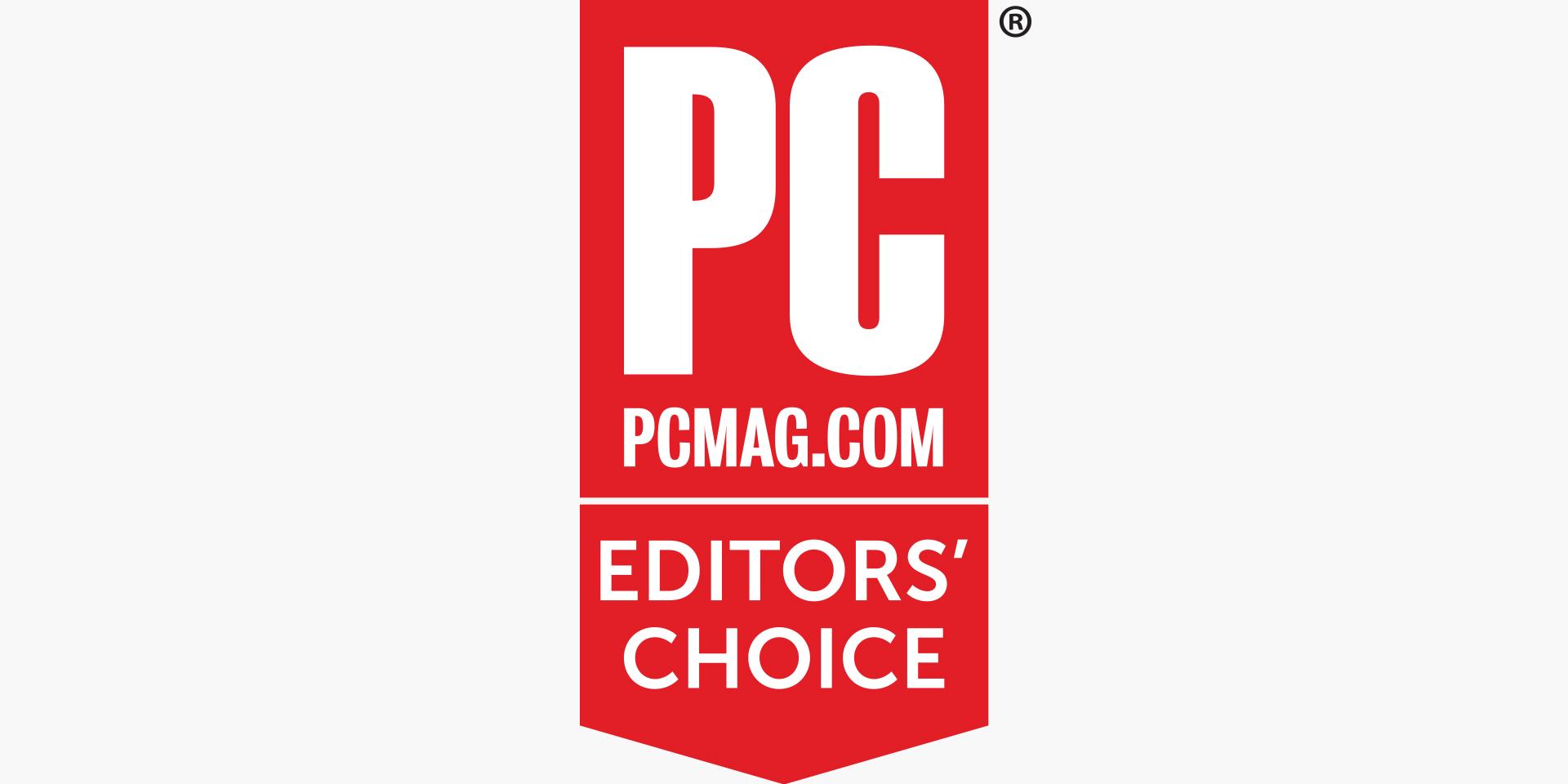 pcmag.com Editors' choice logo