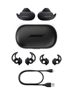 QuietComfort Earbuds, case, extra eartips, USB-C