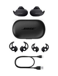 QuietComfort Earbuds, case, extra eartips, USB-C