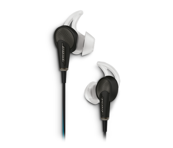 QC20 noise cancelling headphones – Apple devices