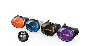 SoundSport Free shown in Bright Orange, Midnight Blue, Black and Ultraviolet