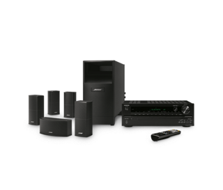 Acoustimass 10 home theater speaker system with Onkyo® HD-R593 receiver