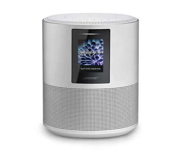 Bose Home Speaker 500 - Silver (with Built-In Amazon Alexa and Google Assistant  Control)