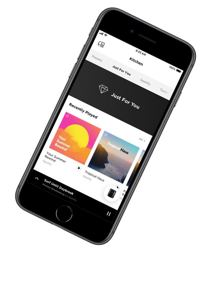Bose soundbar music app