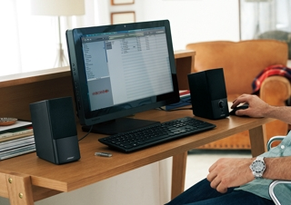 Bose® engineering makes sure you hear it all with just two speakers. Unique  digital signal processing produces consistently clear 5a740f08f77a9