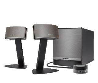 Sistema multimediale di diffusori companion 50 for Casse bose per tv