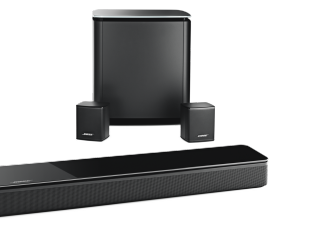 diffusori surround posteriori virtually invisible 300 wireless bose. Black Bedroom Furniture Sets. Home Design Ideas