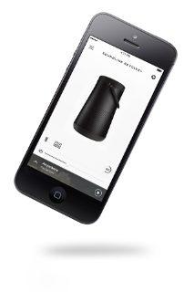 Pantalla de la aplicación móvil Bose Connect