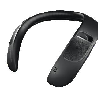 bose soundwear companion neck speaker in black boxed