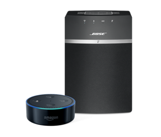 SoundTouch 10 with Amazon Echo Dot