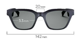 Alto S/M dimensions front view