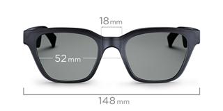 Alto M/L dimensions front view