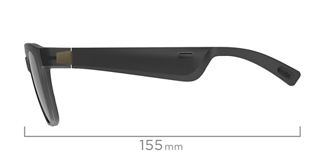 Alto S/M dimensions side view