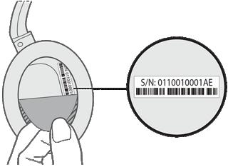 numéro série casque bose utilité
