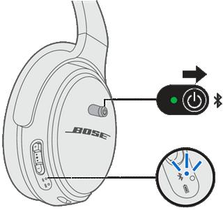 connexion casque bose qc ii en bluetooth pc