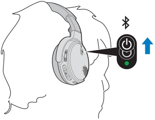 Pairing the headphones with your device