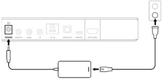 sound bar hook up diagram setting up your system  setting up your system