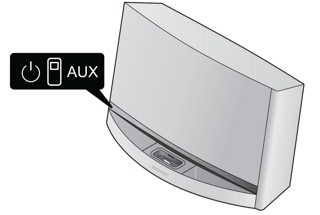 SoundDock 10 system LED status indicators