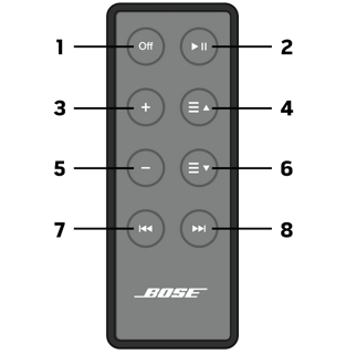 how to delete divice off bose speaker