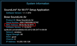 Die MAC-Adresse ermitteln