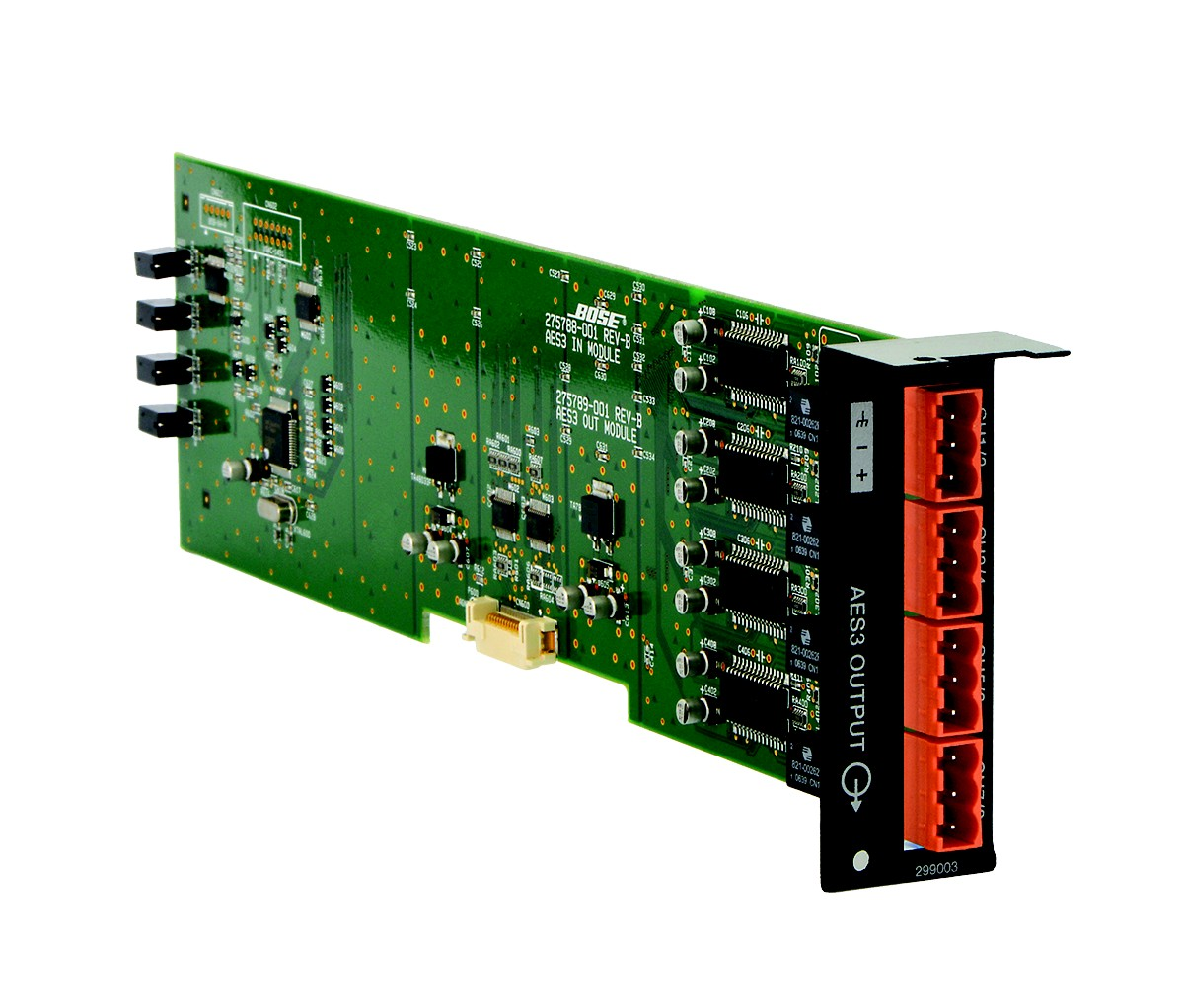 ControlSpace® ESP-00 AES3 eight-channel line output card
