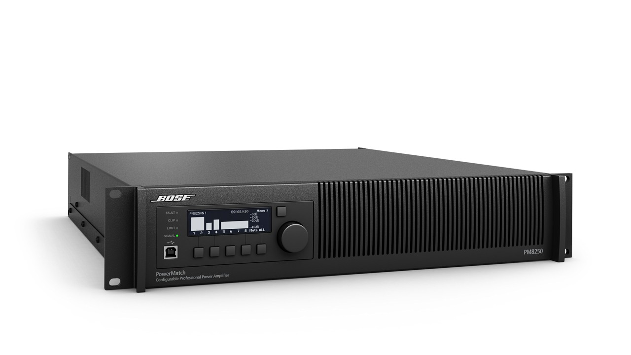 PowerMatch PM8250/PM8250N Power Amplifier | Bose Professional