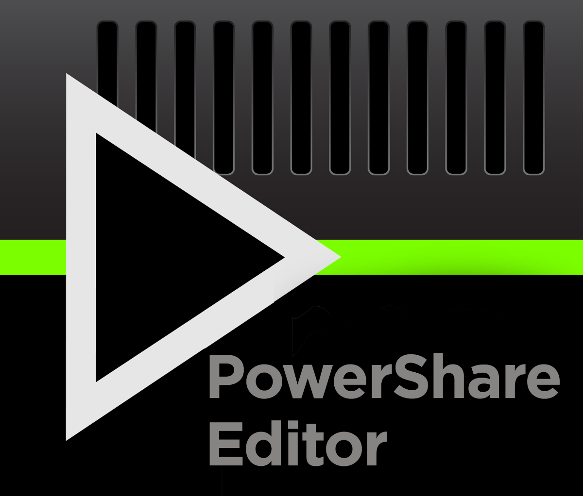 PowerShare Editor software