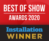 Best of show ISE 2020 award